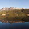 Yellowhead Lake and Mountain - British Columbia, Canada