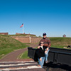 "Mercury Cruise - R/T from Baltimore - November 30-December 12, 2009<br /> A ""we visited Fort McHenry"" photo op."