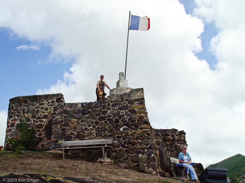 Flashback to 2003 Visit to Sint Maarten/Saint Martin - Fort Louis