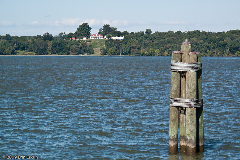 Mount Vernon from Piscataway National Park.