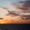 Mercury Cruise - R/T from Baltimore - November 30-December 12<br /> Sunset at Sea