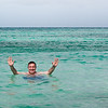 Mercury Cruise - R/T from Baltimore - November 30-December 12<br /> Mui takes a dip at Great Bird Island.