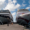 Mercury Cruise - R/T from Baltimore - November 30-December 12<br /> Mercury shares the dock with Ocean Village.