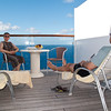 Mercury Cruise - R/T from Baltimore - November 30-December 12<br /> Relaxing afternoon on the CC 1200 veranda.