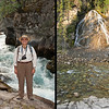 Scenes from Maligne Canyon - between 5th Bridge and 4th Bridge.