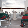 Mercury Cruise - R/T from Baltimore - November 30-December 12<br /> A cool day at sea.