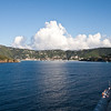 Mercury Cruise - R/T from Baltimore - November 30-December 12<br /> Approach to Charlotte Amalie, St Thomas, USVI.