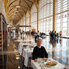 Lunch at Cibo's at Ronald Reagan Washington National Airport.