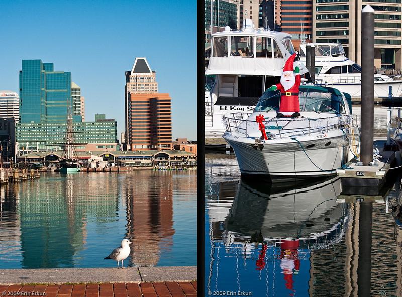 Mercury Cruise - R/T from Baltimore - November 30-December 12, 2009<br /> Scenes from the Inner Harbor