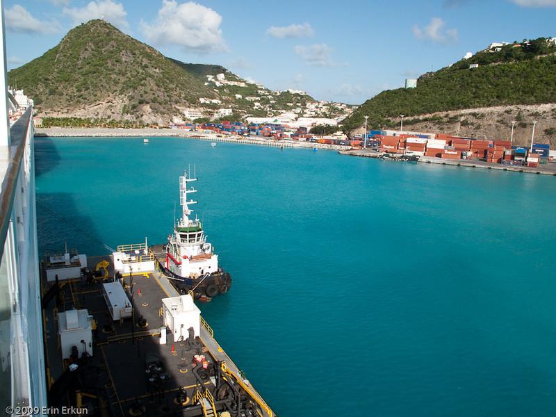 Mercury Cruise - R/T from Baltimore - November 30-December 12<br /> Bunkering fuel in Sint Maarten.