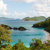 Mercury Cruise - R/T from Baltimore - November 30-December 12<br /> Trunk Bay from the overlook.