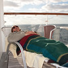 Mercury Cruise - R/T from Baltimore - November 30-December 12<br /> Shhh!  Don't wake him.