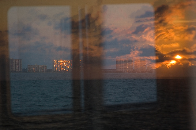 Reflected Sunset/Clearwater Beach