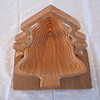 Pine Tree Folding Basket - Up