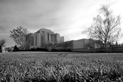 Cardston temple in Fall 2006 - Cly was testing out the new EF-S 10-22mm f/3.5-4.5 USM lens.