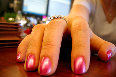 Jaimie Jessop's fabulous nails taken with crap point & shoot camera