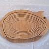 Pig Folding Basket - Flat