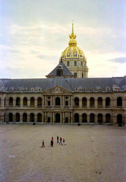 Cour d'Honneur, Hôtel des Invalides, Paris.
