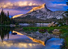 Cathedral Peak, Yosemite National Park, near the JMT