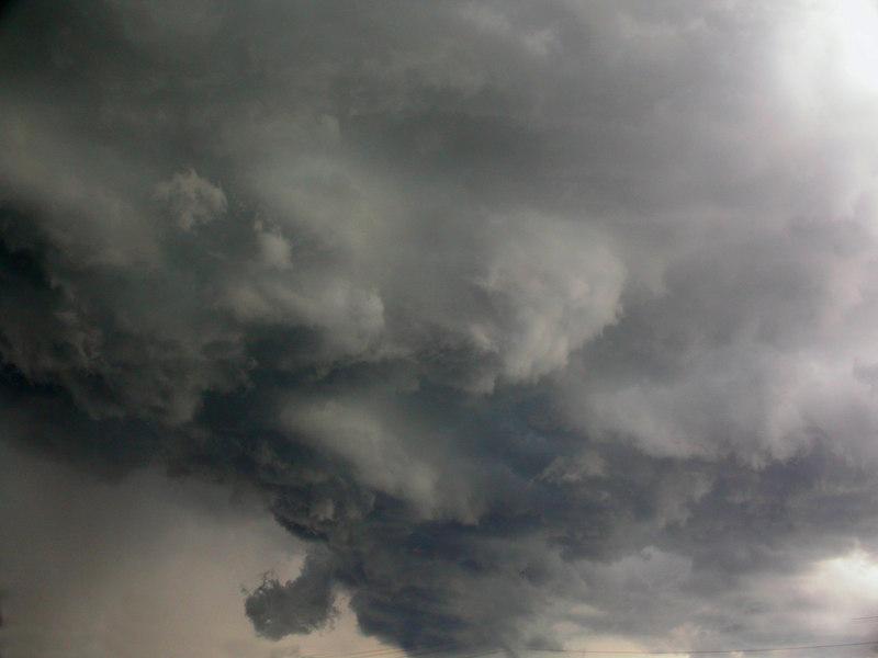 Threatening storm clouds in the Kentucky Bluegrass