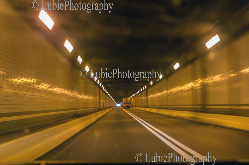 Tunnel on road I-76, PA