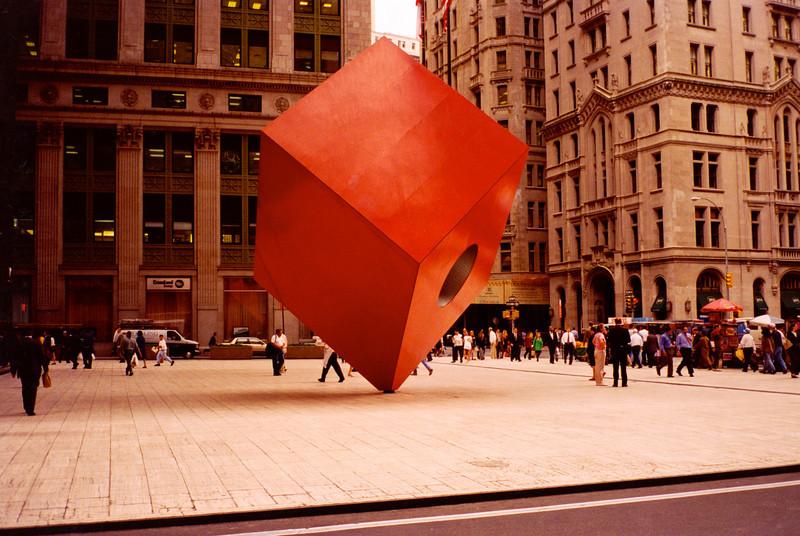 Financial District, lower Manhattan.