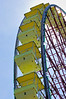 Stock Photo of Ferris Wheel at Six Flags Kentucky Kingdom in Louisville, Kentucky