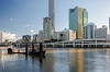 Brisbane river and architecture