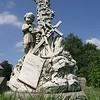 A Naval themed headstone in Oakwood Cemetery, Atlanta Georgia.