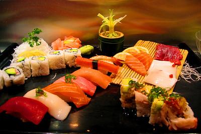 Sushi at Amura in Orlando.