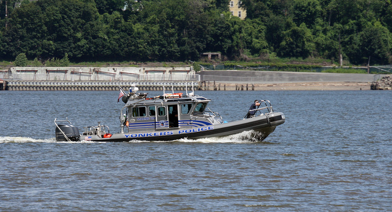 Yonkers Police on the Hudson