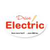 Drive Electric magnetic sticker