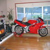 1991 VFR in the living room (West Seattle, WA)