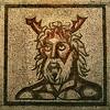Roman mosaic, Verulamium Museum, St Albans