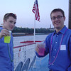 CJ and me taking an EY-sponsored riverboat cruise.