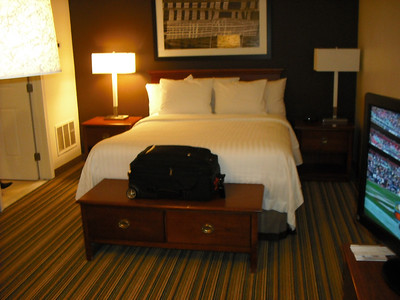 In our room at Marriott, Somers Point, N.J. on November 25, 2012