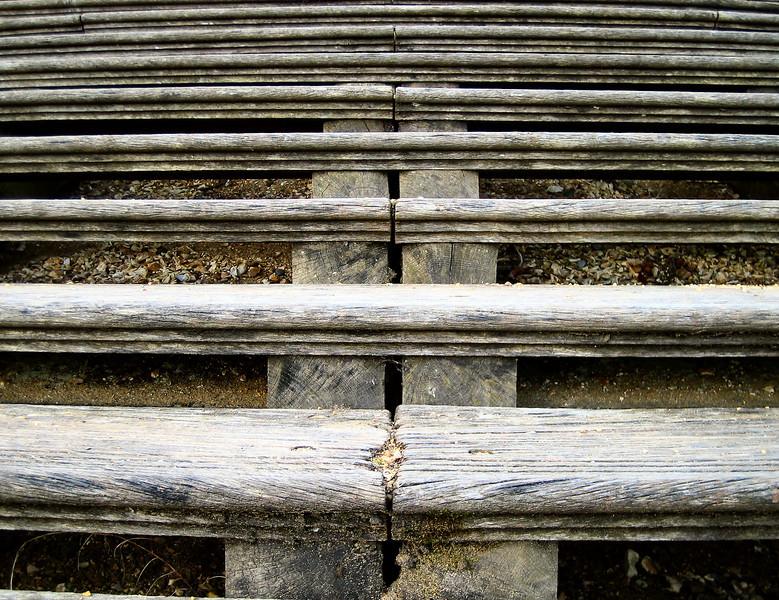 Hampton Court gardens (steps)