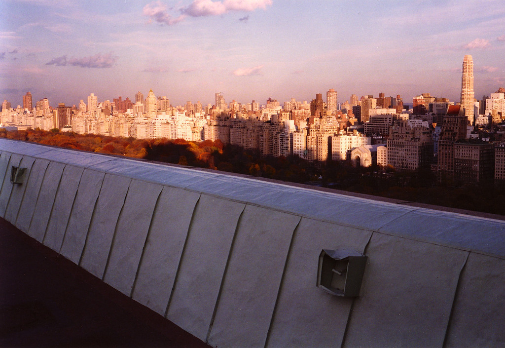 East Side, Central Park, from New York Athletic Club roof.