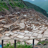 Salt factory in Sacred Valley. Maras, Peru