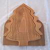 Pine Tree Folding Basket - Flat