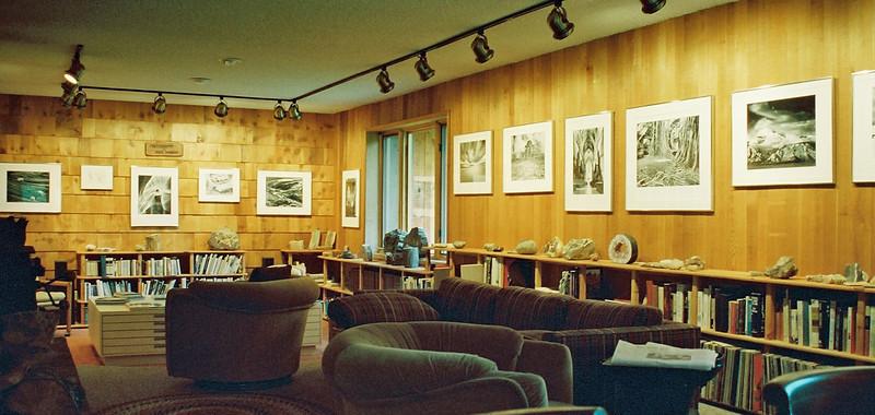 Bruce Barnbaum's living room