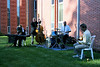 A local jazz band provided music for the Monday evening reception and dinner.