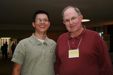 Novice Son Ho and Br. Ray Kozuch