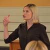 Bridget Brotherton Martin talks on the second morning of presentations.