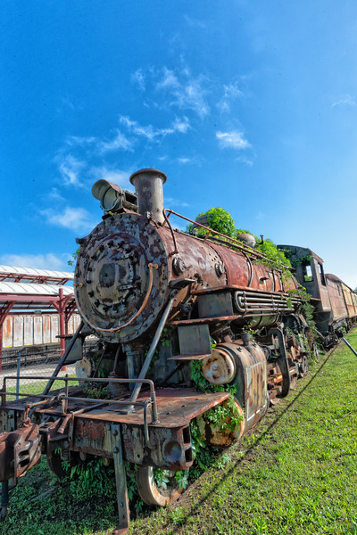 "Bonhomie & Hattiesburg Southern Railroad 2-8-2 ""Mikado"""