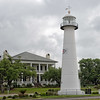 Biloxi Lighthouse and Robinson-Maloney-Dantzler House