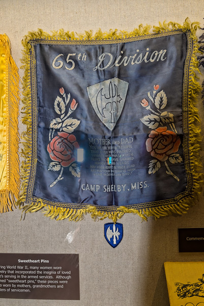 65th Infantry Division Commemorative Cloth