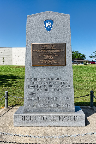 65th Infantry Division Monument