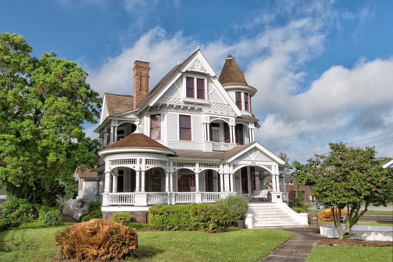Hattiesburg, Mississippi, Queen Anne Style Victorian
