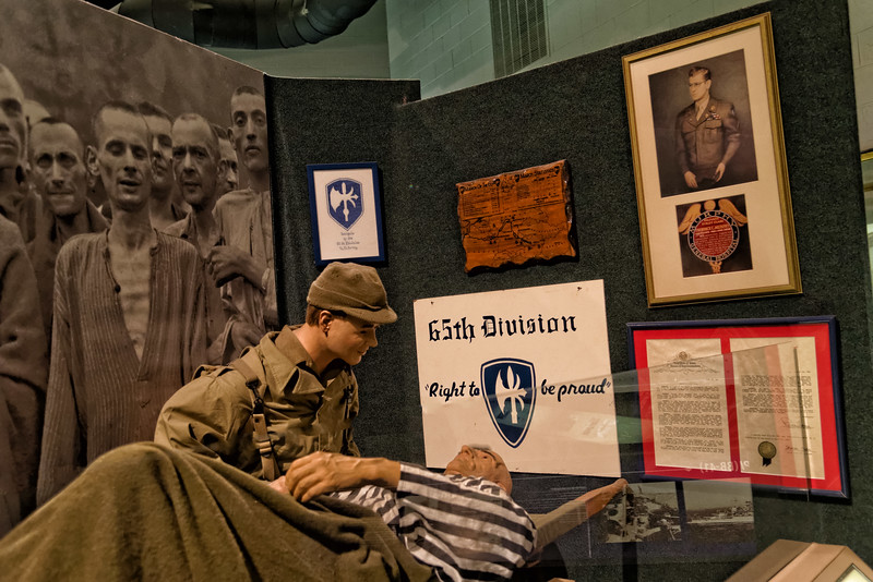 """""""Right to be proud"""" 65th Division display"""